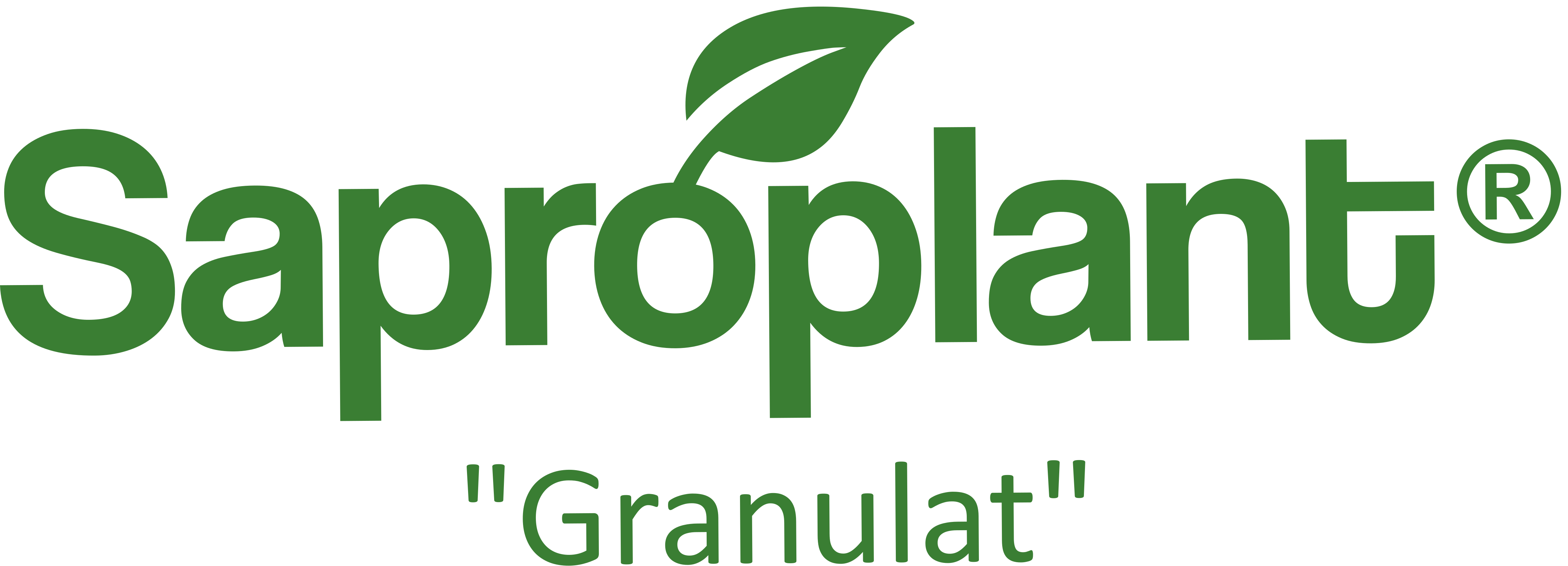 Saproplant Granulat _